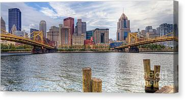 0311 Pittsburgh 1 Canvas Print by Steve Sturgill