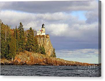0376 Split Rock Lighthouse Canvas Print