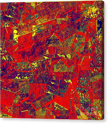0384 Abstract Thought Canvas Print