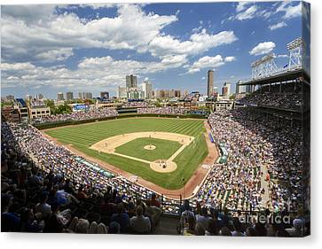 0415 Wrigley Field Chicago Canvas Print