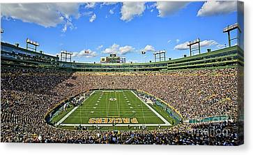 0539 Lambeau Field Canvas Print