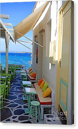 0560 Mykonos Greece Canvas Print