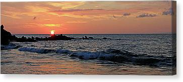 0581 Maui Sunset 2 Canvas Print
