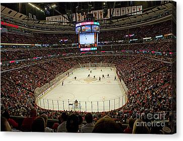 0616 The United Center - Chicago Canvas Print by Steve Sturgill