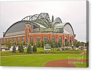 0622 Milwaukee's Miller Park Canvas Print