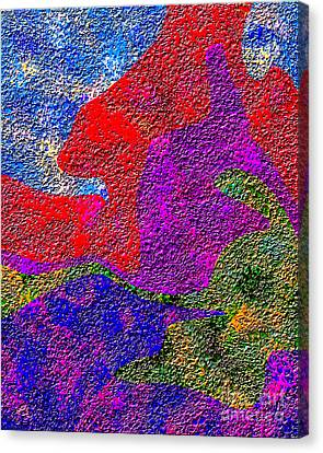 0732 Abstract Thought Canvas Print by Chowdary V Arikatla
