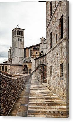 0799 Assisi Italy Canvas Print by Steve Sturgill