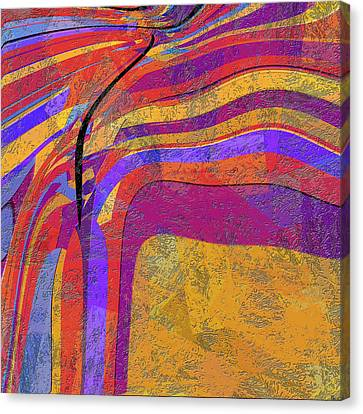 0871 Abstract Thought Canvas Print by Chowdary V Arikatla