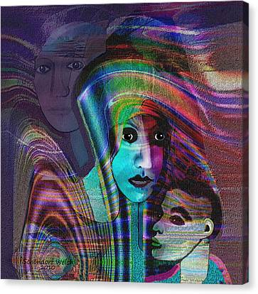 091 -   Madonna Arrabbiata ... Canvas Print