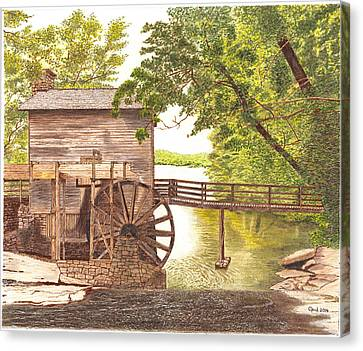 600- 2 Canvas Print by Cloud Farrow