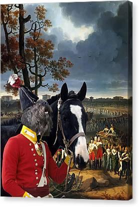 Bouvier Des Flandres - Flandres Cattle Dog Art Canvas Print Canvas Print