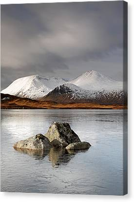 Lochan Na H-achlaise Canvas Print by Grant Glendinning