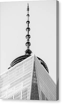 Scenery Near World Trade Center In New York C Canvas Print