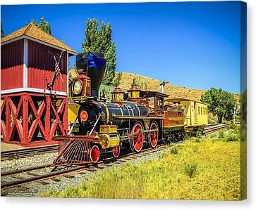 Virginia And Truckee Gold Rush Train 22 Canvas Print by LeeAnn McLaneGoetz McLaneGoetzStudioLLCcom