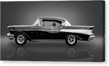 1957 Chevrolet Bel Air Canvas Print