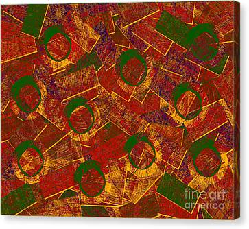 Contemporary Canvas Print - 0255 Abstract Thought by Chowdary V Arikatla