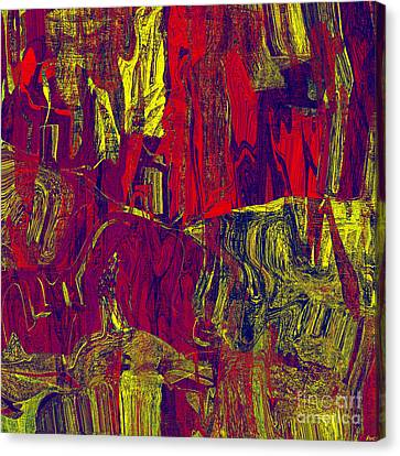 0479 Abstract Thought Canvas Print by Chowdary V Arikatla