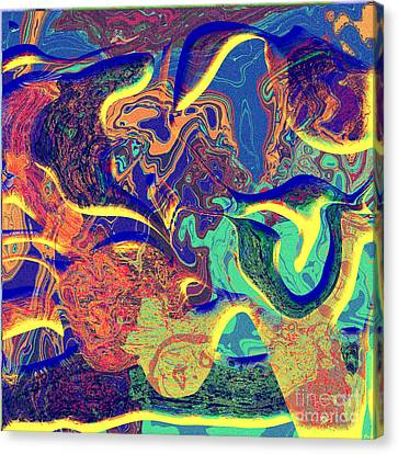 0627 Abstract Thought Canvas Print