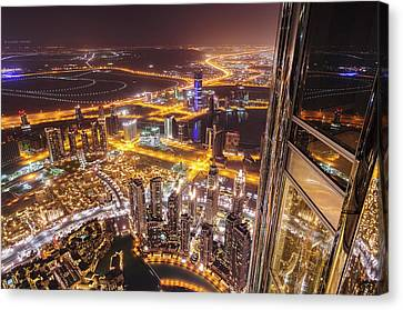 124th Floor Canvas Print