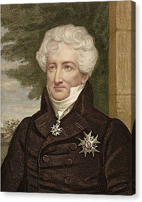 1830 Baron Georges Cuvier Palaeontologist Canvas Print by Paul D Stewart