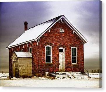 1890 School House Canvas Print