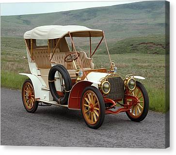 1904 Mercedes 2832 Hp Side Entrance Canvas Print