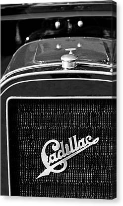 1907 Cadillac Model M Touring Grille Emblem Canvas Print by Jill Reger