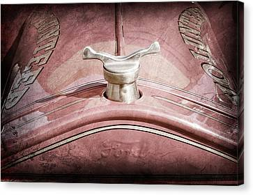 1919 Ford Volunteer Fire Truck Hood Ornament Canvas Print by Jill Reger