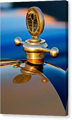 1922 Studebaker Touring Hood Ornament 3 Canvas Print by Jill Reger