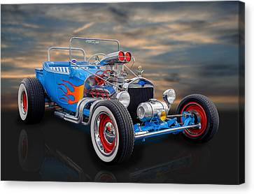 1923 Ford T-bucket Canvas Print by Frank J Benz