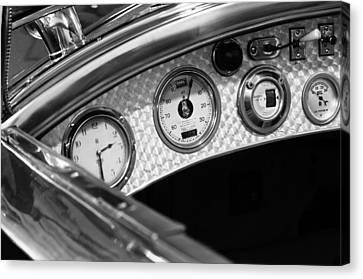 1927 Rolls-royce Phantom I Tourer Dashboard Gauges Canvas Print by Jill Reger