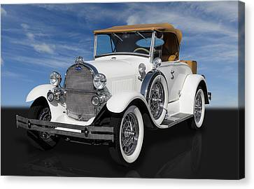 1929 Ford Model A Canvas Print