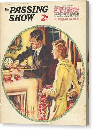 1930s,usa,the Passing Show,magazine Canvas Print