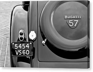 1937 Bugatti Type 57c Ventoux Canvas Print by Jill Reger