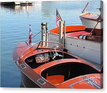 1939 Garwood Runabout Canvas Print by Neil Zimmerman