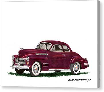 Cadillac 62 Coupe Canvas Print
