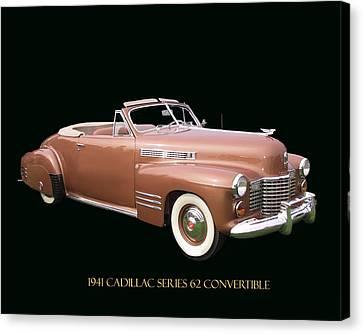 1941 Cadillac Series 62 Convertible Canvas Print by Jack Pumphrey