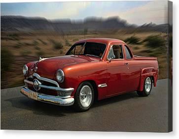 1950 Australian Ford Ute  Canvas Print by Tim McCullough
