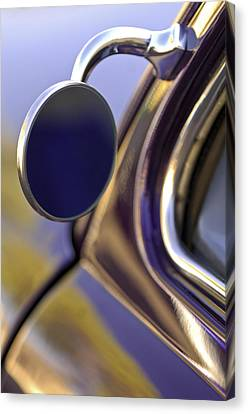 1950 Mercury Custom Lead Sled Side Mirror Canvas Print by Jill Reger