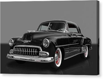 1952 Chevrolet Deluxe 2 Door Hardtop Canvas Print