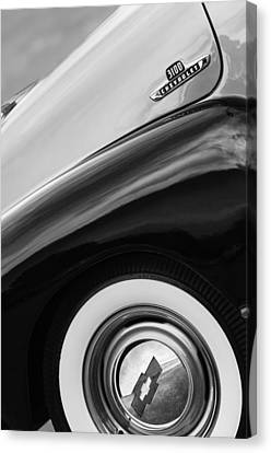 1955 Chevrolet 3100 Pickup Truck Emblem Canvas Print