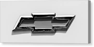 1955 Chevrolet Cameo Pickup Truck Emblem Canvas Print by Jill Reger