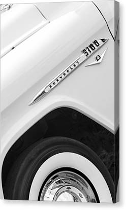 1955 Chevrolet Cameo Pickup Truck Canvas Print by Jill Reger