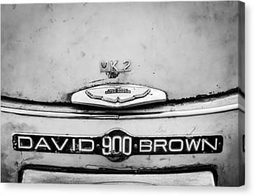 1957 Aston Martin Db2-4 Mark IIi Emblem Canvas Print