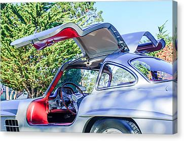 1957 Mercedes-benz Gullwing  Canvas Print