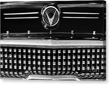 1958 Buick Special Monochrome Canvas Print by Tim Gainey