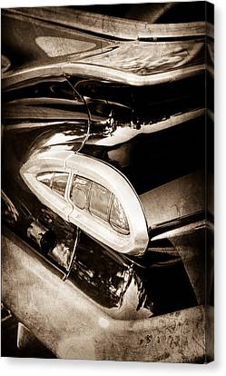 1959 Chevrolet Impala Taillight Canvas Print by Jill Reger