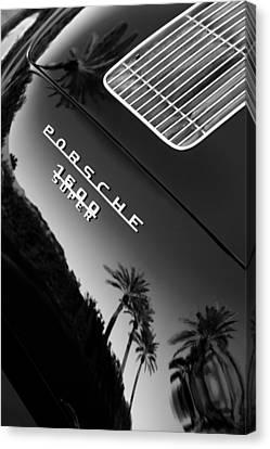 1959 Porsche 356 A 1600 Convertible D Rear Emblem Canvas Print