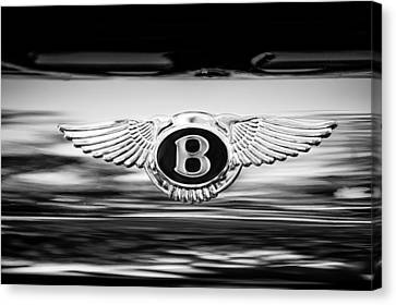 1961 Bentley S2 Continental - Flying Spur - Emblem Canvas Print by Jill Reger