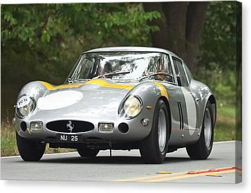 1963 Ferrari 250 Gto Scaglietti Berlinetta Canvas Print by Jill Reger